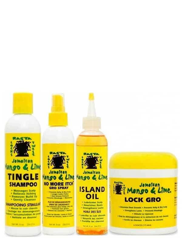 Programme Croissance Cheveux Locksés Jamaican Man...