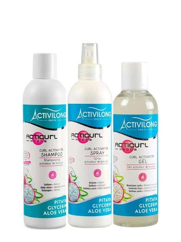 Programme soin cheveux bouclés Acticurl