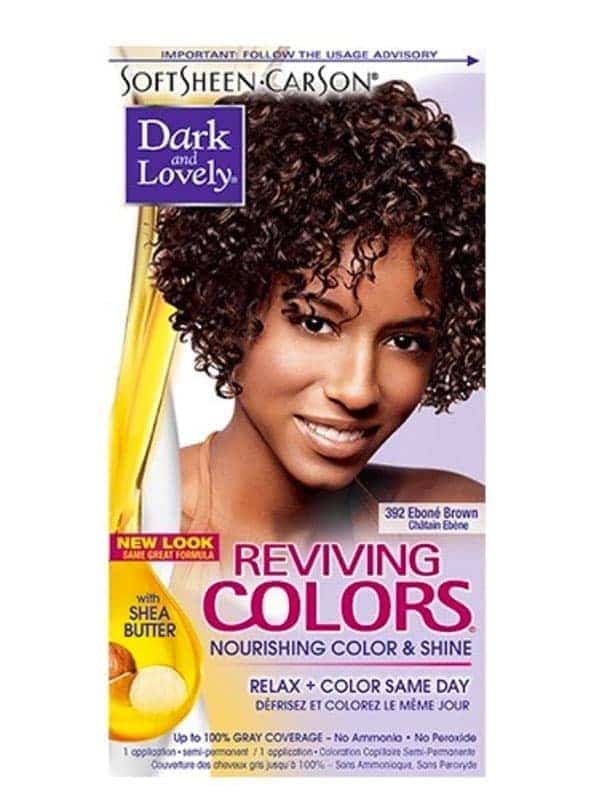 Reviving Colors Ebone Black Dark & Lovely