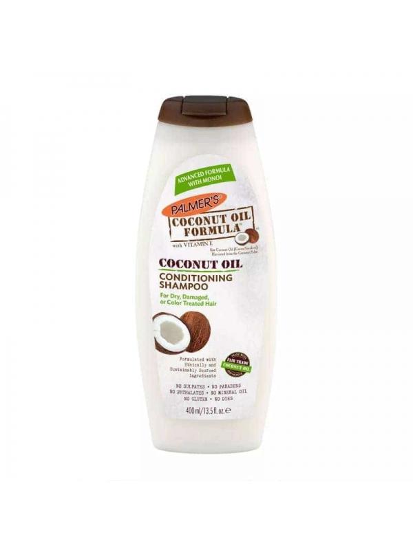 Shampoing À L'huile De Noix De Coco 400ml Palmer'...