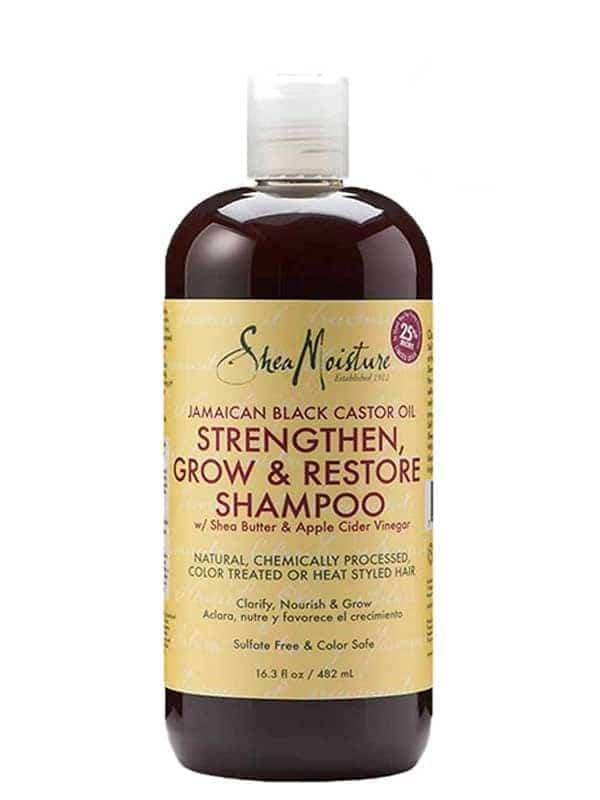 Shampoing Reconstructeur à L'huile de Ricin Noir ...