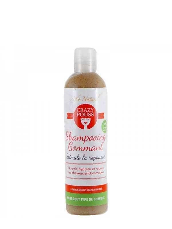 Shampooing Gommant Crazy Pouss 300ml Afro Naturel