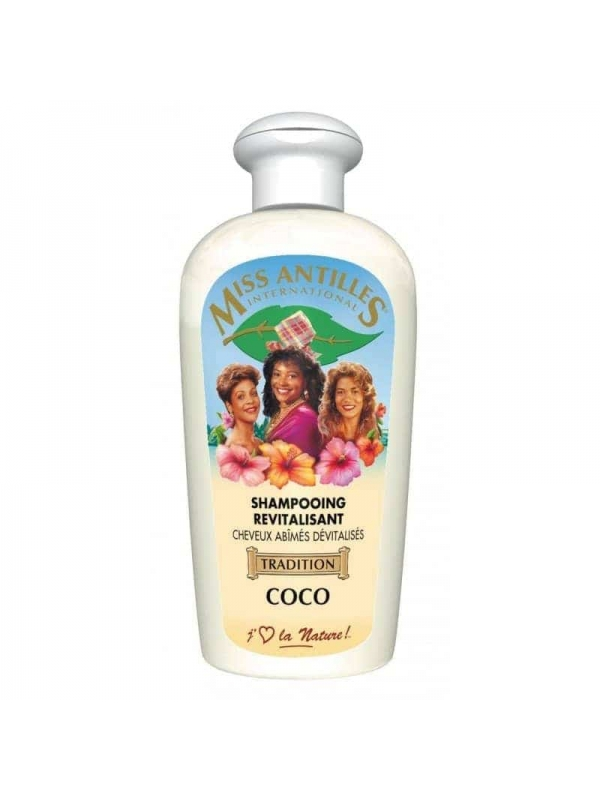 Shampooing Revitalisant Coco 250 Ml De Miss Antilles International