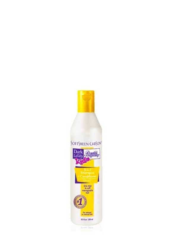 Shampooing + Soin 2 en 1 250ml Dark and Lovely