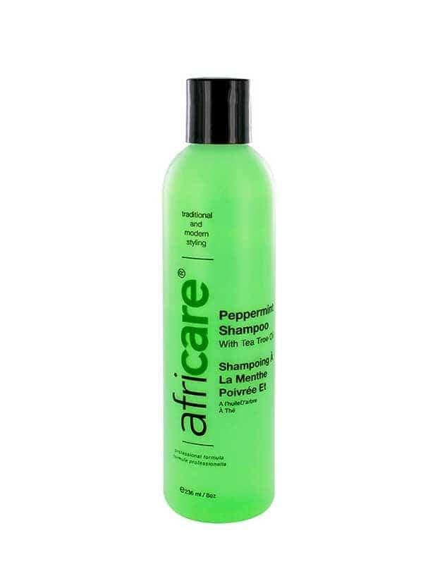 Shampooing à la menthe poivrée Africare