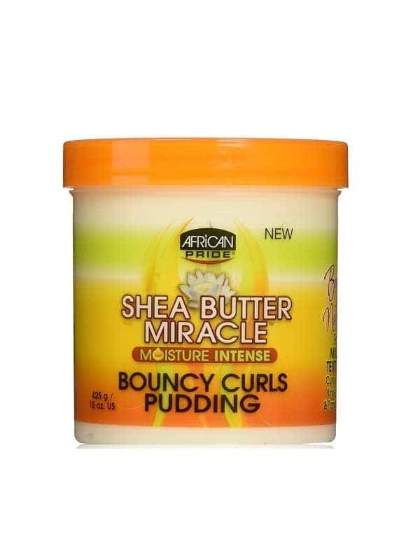 African Pride Shea Butter Miracle Bouncy Curl Pudding