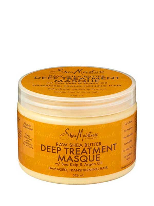 Shea Moisture masque ultra hydratant au beurre de karité pur