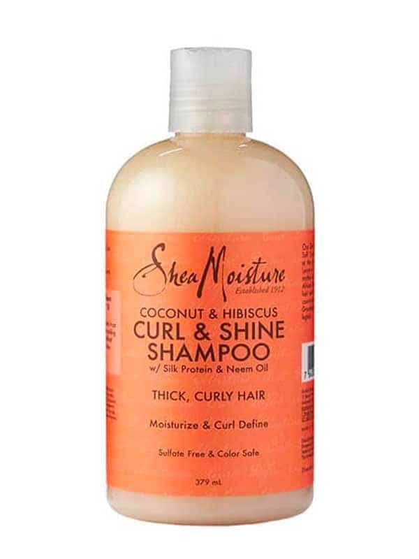 Shea Moisture Shampooing coconut hibiscus