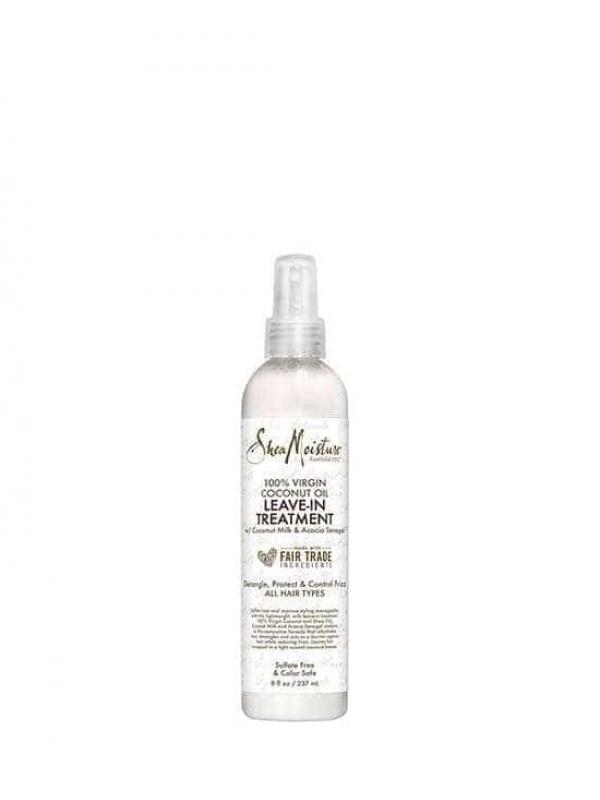 Traitement Sans Rinçage 100% Virgin Coconut Oil 237ml Shea Moisture
