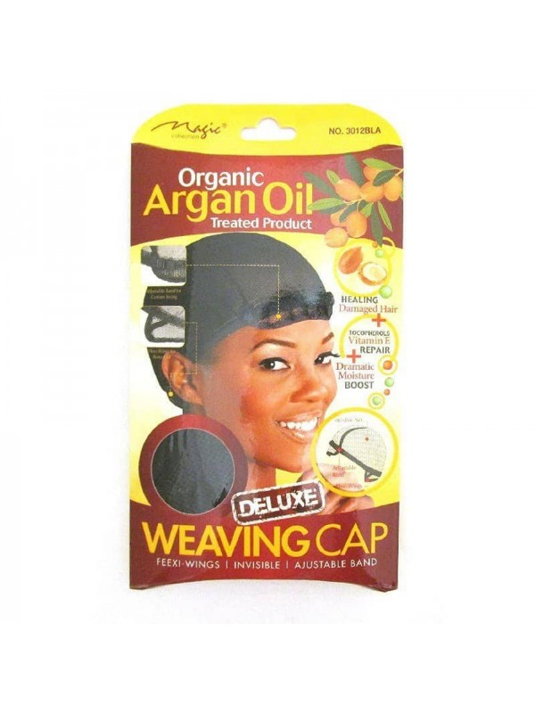 Argan Oil Deluxe Weaving Cap 3012 by Magic Organic