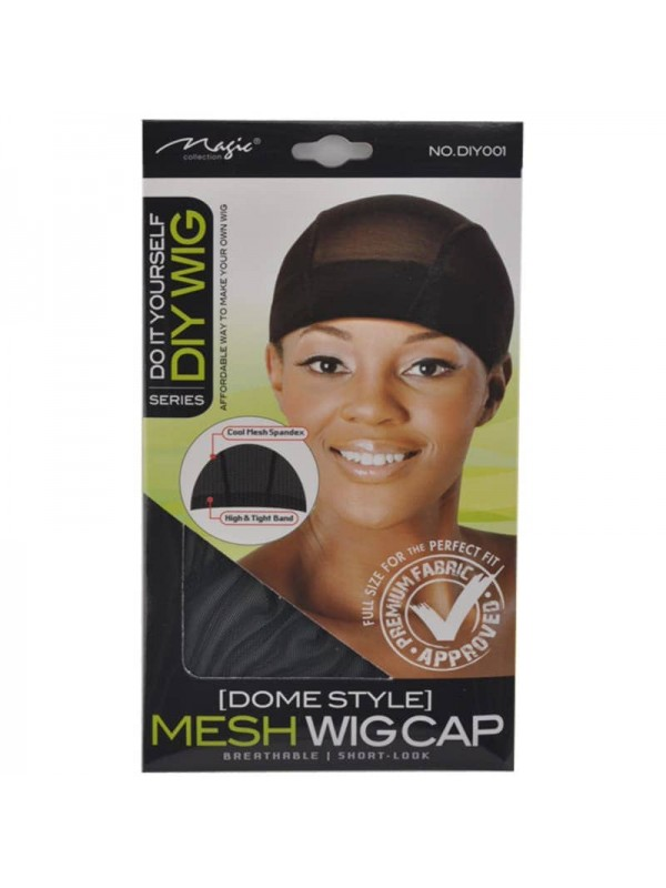 Mesh Dome Wig Cap Cool Mesh Spandex With Wide Elas...