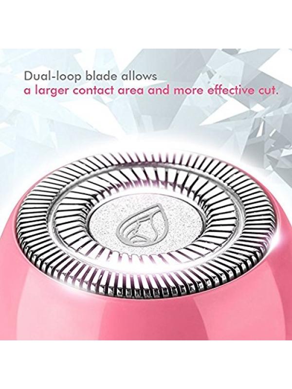Lavany Mini Rasoir Electrique pour Femmes