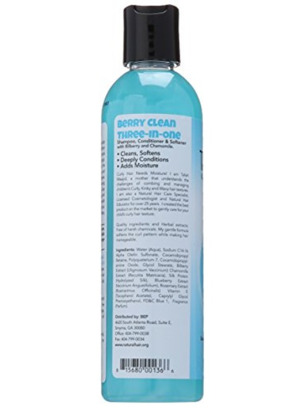 Berry Clean Shampoing 3 en 1 Kinky Wavy Natural